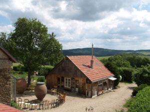 Ferienhaus Eifel Uedelhoven Blick auf die Werkstatt