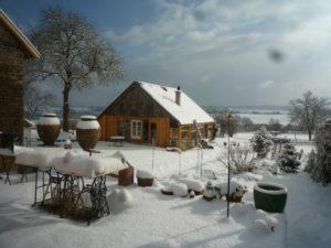 Eifel Ferienidylle Aussicht Winter