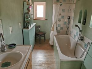 Eifel Ferienidylle Badezimmer Obergeschoss