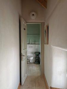 Ferienhaus Eifel Uedelhoven Flur zum Badezimmer Obergeschoss