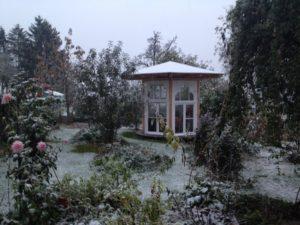 Ferienhaus Eifel Uedelhoven Gartenhaus nebenan 07.11.2016