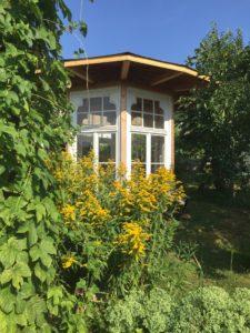 Ferienhaus Eifel Uedelhoven Gartenhaus nebenan 07.2018