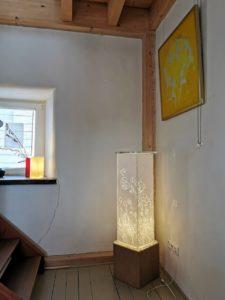 Ferienhaus Eifel Uedelhoven Lichtsäule von Barbara Böhringer Parterre