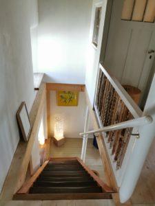 Ferienhaus Eifel Uedelhoven Treppenabgang